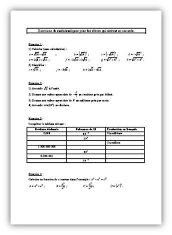 Vecteurs et translation : Cours PDF à imprimer | Maths 3ème